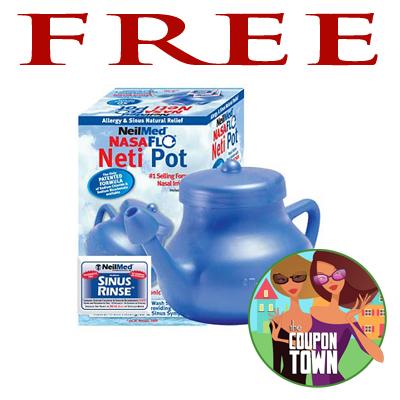 Free Neilmed Nasaflo Neti Pot Julie S Freebies