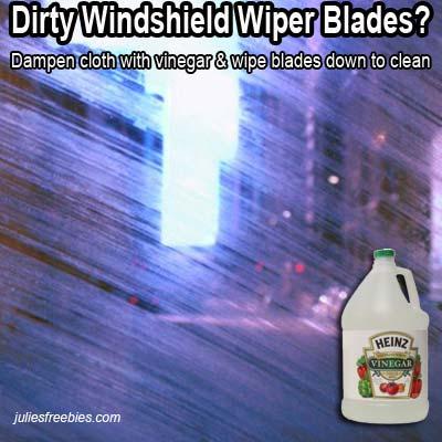 clean-dirty-windshield-wiper-blades-vinegar