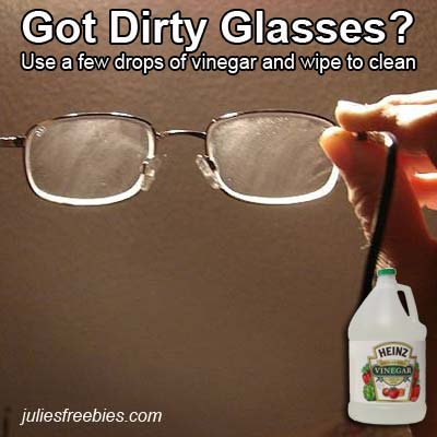 clearn-dirty-glasses-with-vinegar