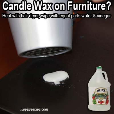 remove-candle-wax-furniture-vinegar