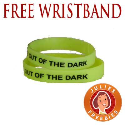 Free Glow In The Dark Depression Awareness Wristband
