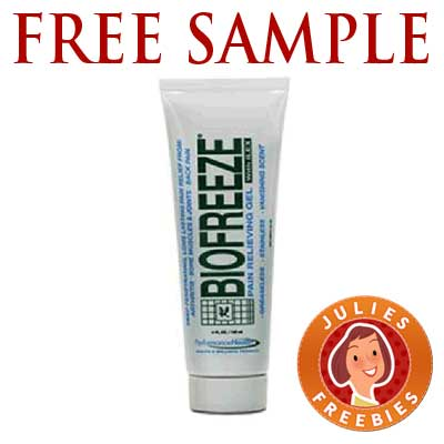 free-sample-biofreeze-gel