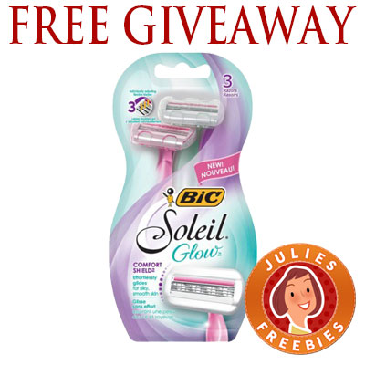 free-bic-soleil-glow-razor-giveaway