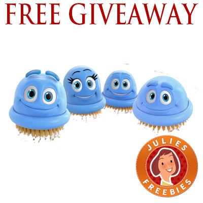 free-scrubbing-bubbles-plush-toy-giveaway