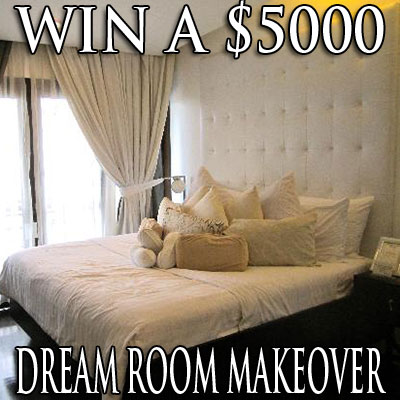 Enter to win a 5 000 dream room makeover julie 39 s freebies for Dream room maker