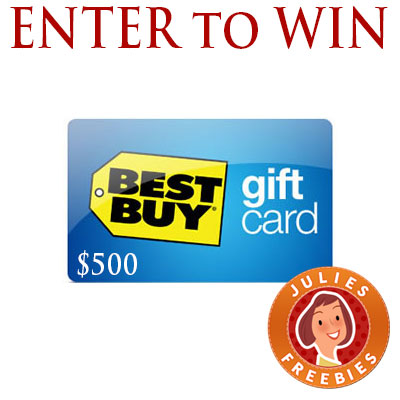 Enter to win a 500 best buy gift card julies freebies win best buy gift card negle Image collections