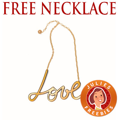 free-love-word-necklace