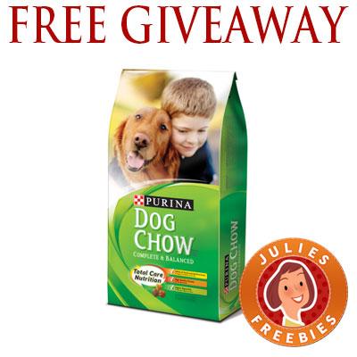 Purina dog food giveaway