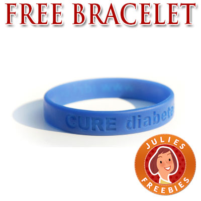 Free Diabetes Awareness Bracelet