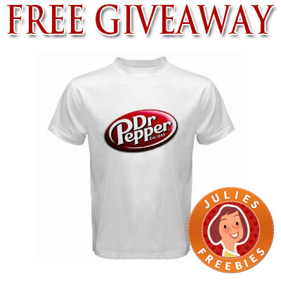 free dr pepper t shirt giveaway 1000 available julie
