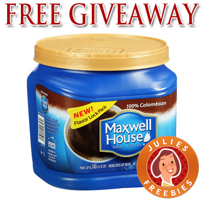 free home giveaway free maxwell house product giveaway 500 winners daily 5158