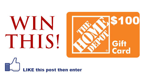 Enter to Win $100 Home Depot Gift Card - Julie's Freebies