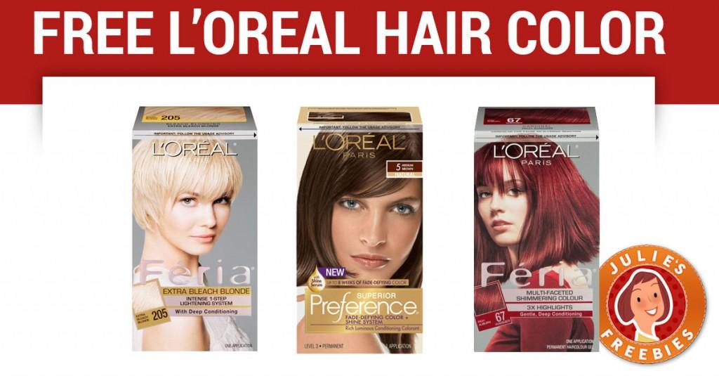 free-loreal-paris-hair-color