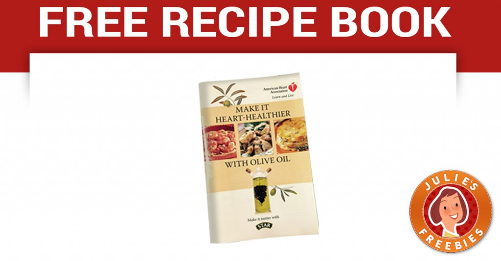 Free Heart Healthier Recipe Book | Julie's Freebies