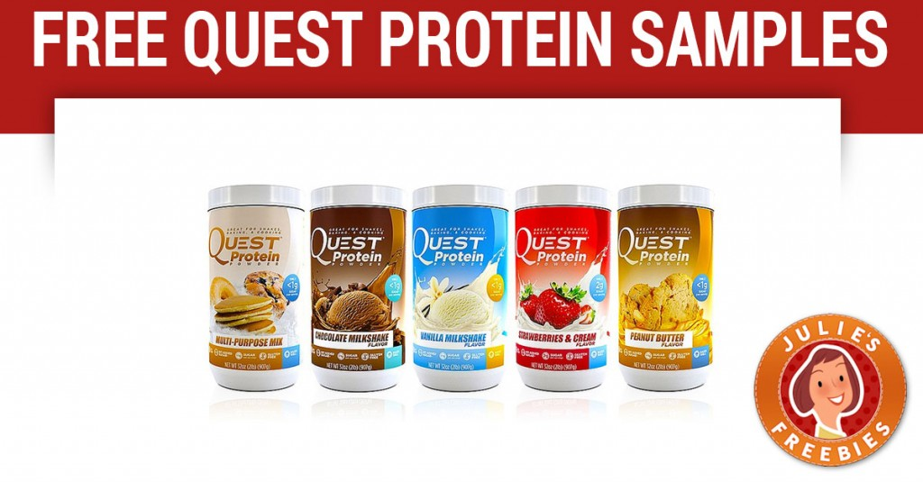 Free Quest Protein Powder Samples - Julie's Freebies