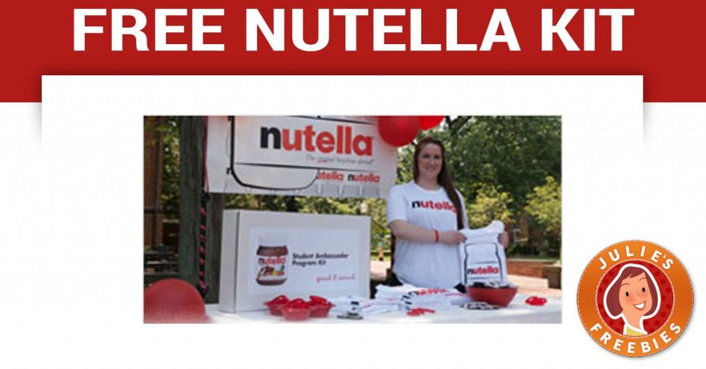 free-nutella-ambassador-kit