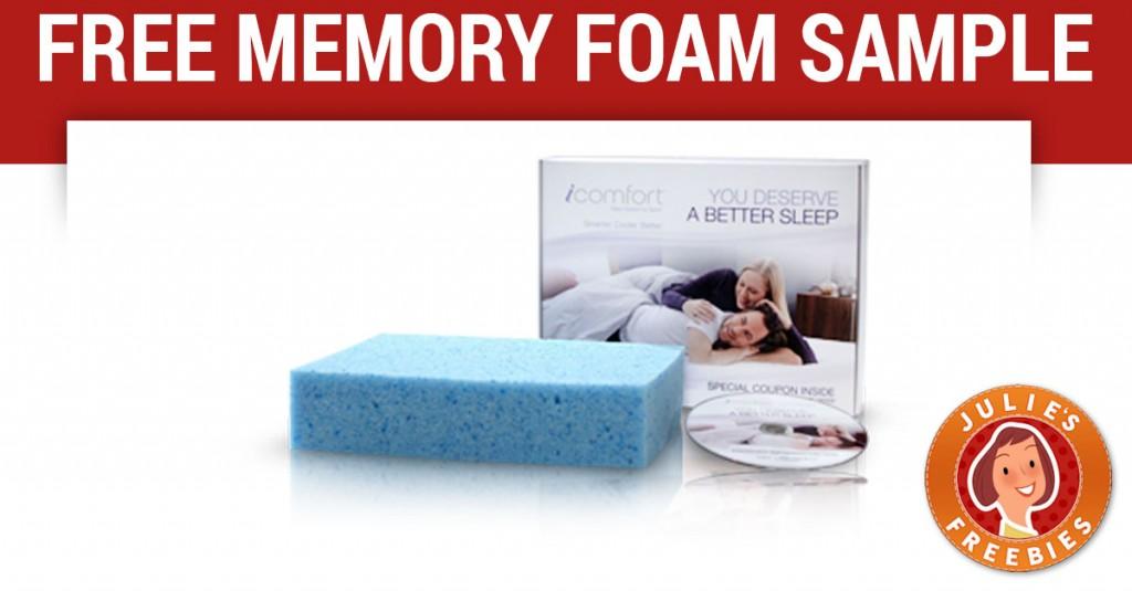 free-serta-memory-foam-sample