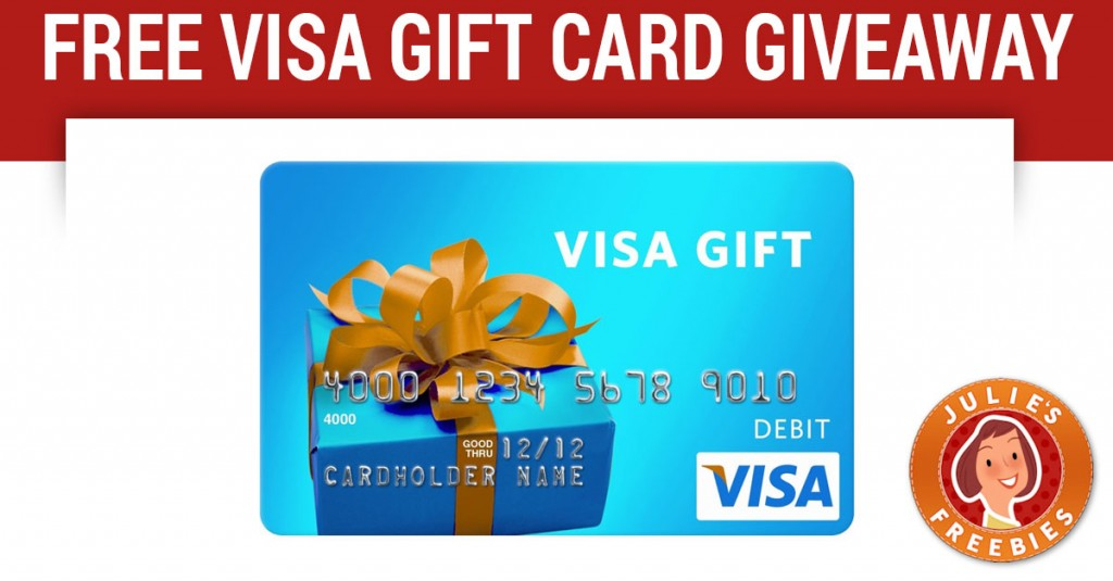 visa sweepstakes 25 visa gift card instant win game julie s freebies 5350