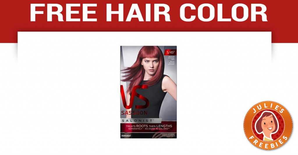 Hair color freebies