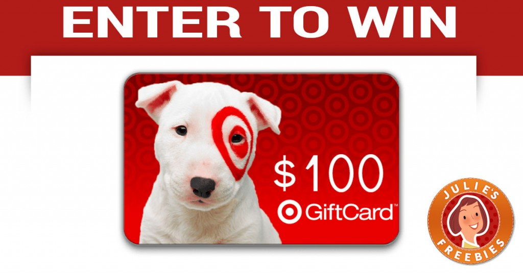 Enter to Win a $100 Target Gift Card - Julie's Freebies