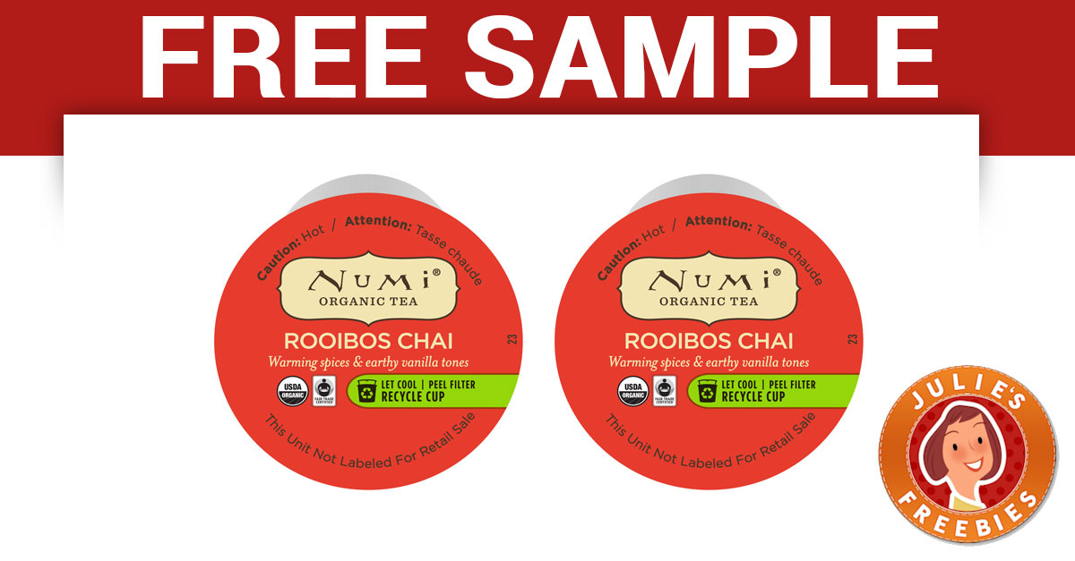 free-numi-organic-tea-k-cup