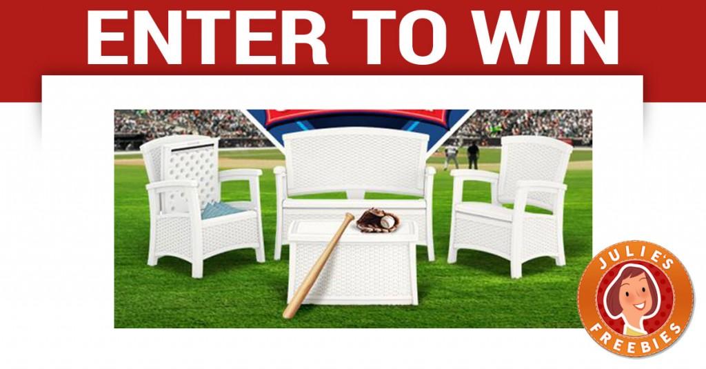 win-outdoor-furniture - Enter To Win Outdoor Patio Furniture - Julie's Freebies