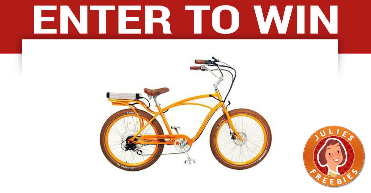 Win a Tommy Bahama Electric Bike