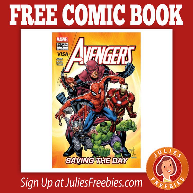 Free Comic Book Day España: Free Avengers Saving The Day Comic Book