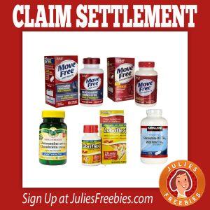 Schiff Glucosamine Settlement - Julie's Freebies