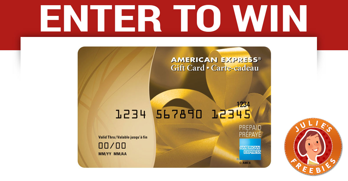 amex gift card giveaway
