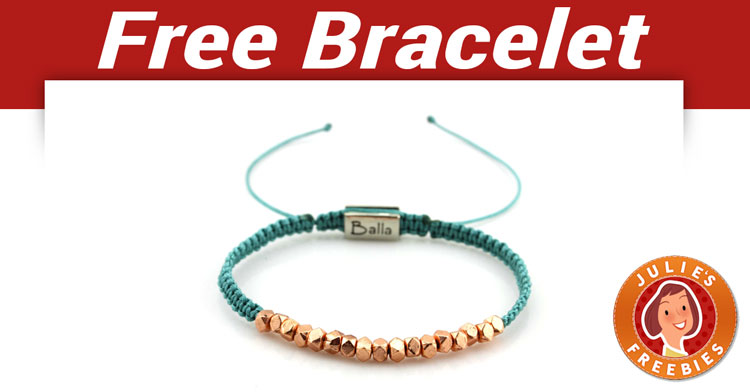 Here Is An Offer Where You Can Get A Free Balla Bracelet Add To Your Cart On Their Site And Will Pop Up For
