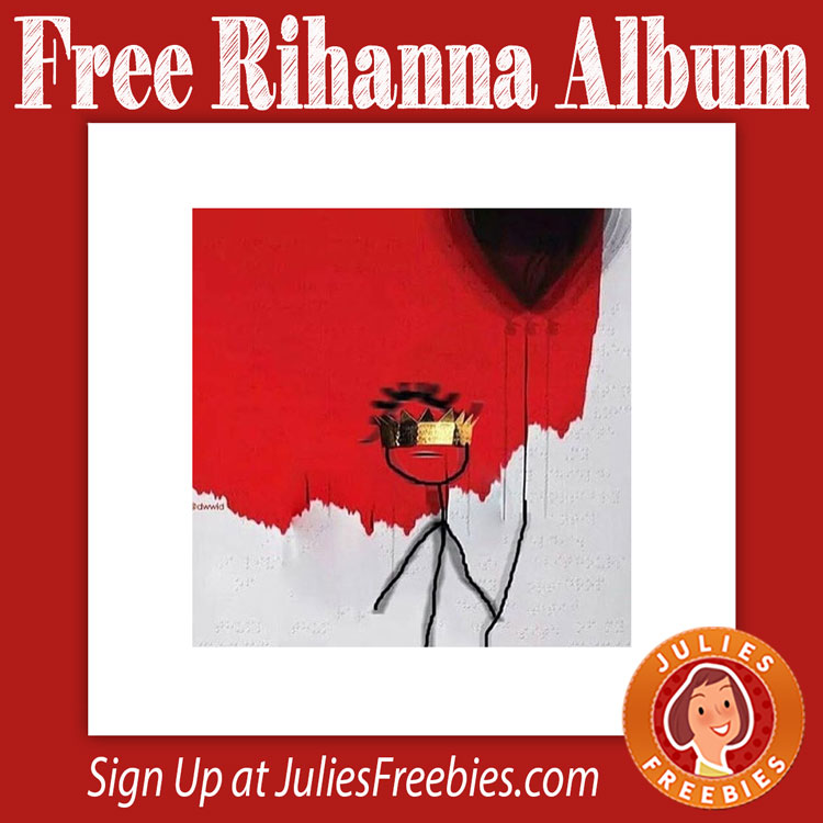 Rihanna's 'anti' is available now as a free download • popjustice.