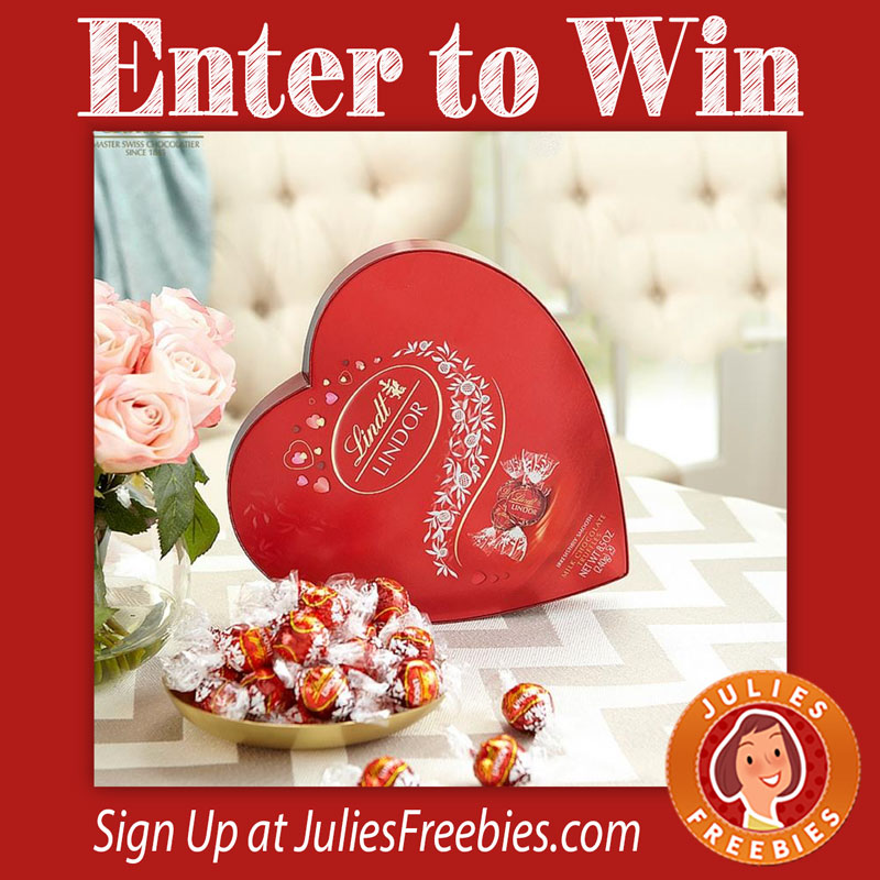Win Lindt Valentines Chocolates Julie S Freebies