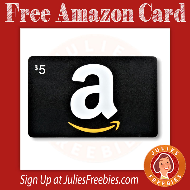 free amazon gift card julie s freebies
