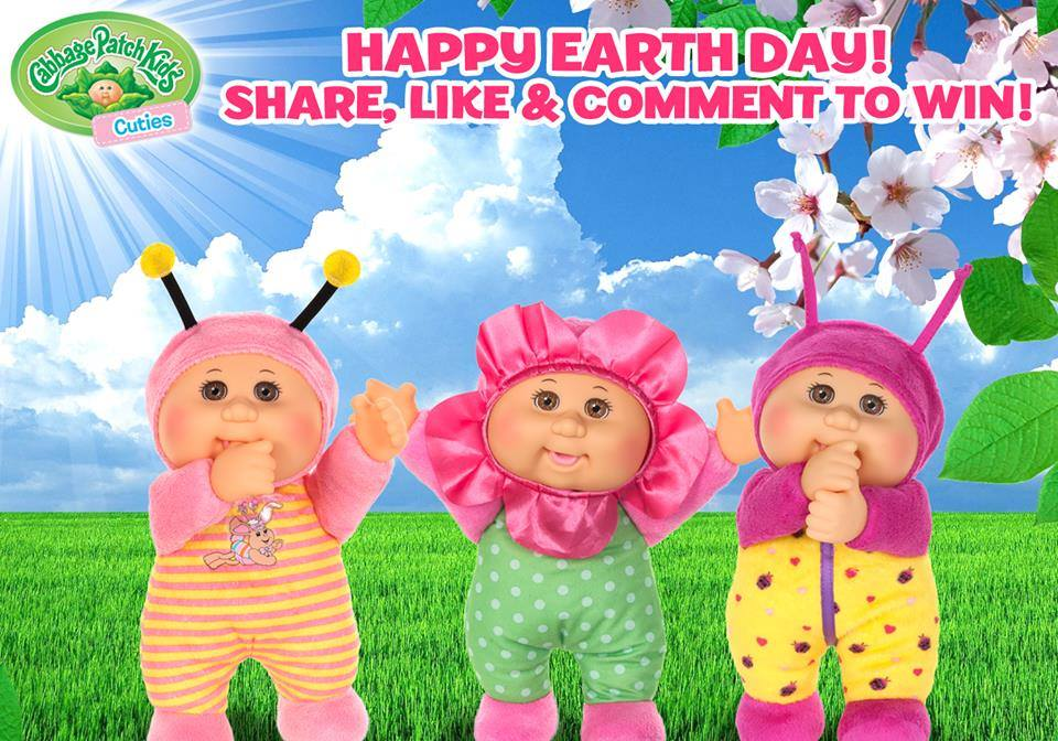 Cabbage Patch Kids Cuties Garden Party