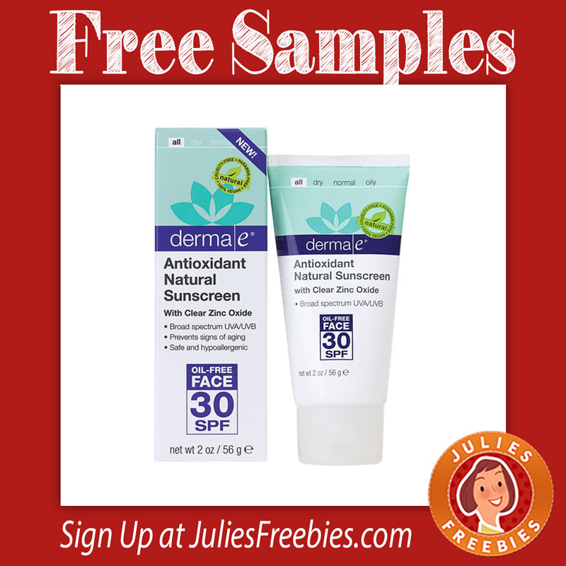 derma-e-sunscreen-samples