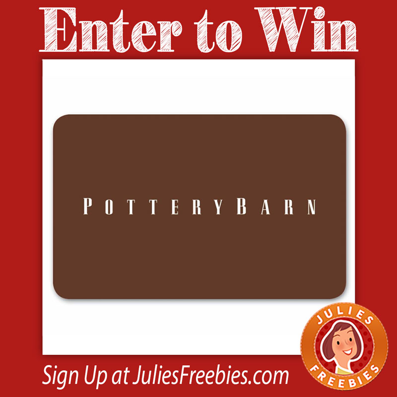 Win A 2000 Pottery Barn Gift Card Julie S Freebies