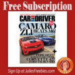 Free Car and Driver Magazine Subscription