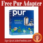 Free Pur Water Filter Metal Adapter