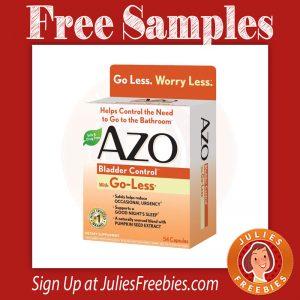 Azo Bladder Control >> Free Azo Bladder Control Samples Julie S Freebies