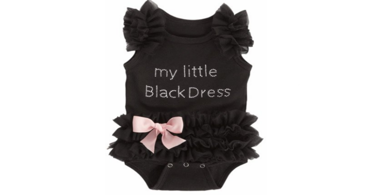 Baby Little Black Dress Onesie For 599 Shipped Julies Freebies