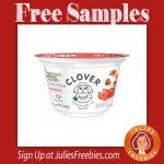 Free Clover Farms Organic Greek Yogurt