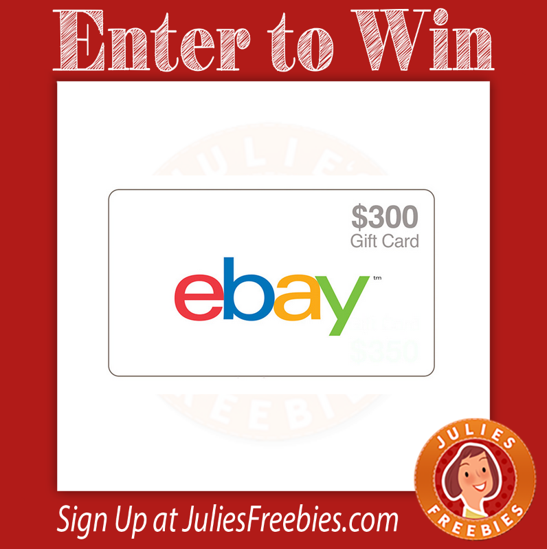 Win A 300 Ebay Gift Card Julie S Freebies