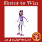 Win a Barbie™ Star Light Adventure RC Hoverboard Doll