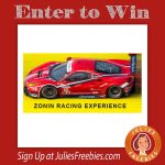 Zonin Racing Experience Giveaway and Instant Win Game