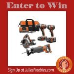 Win a Ridgid GEN5X 18-Volt Lithium-Ion Cordless Combo Kit