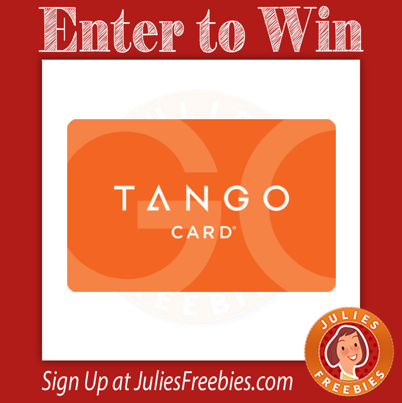 Win a Tango Gift Card - Julie's Freebies