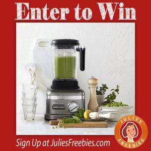 Win A Kitchenaid Pro Line Blender W Thermal Control Jar