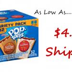 Kellogg's Pop Tart 32ct Subscribe & Save Deal