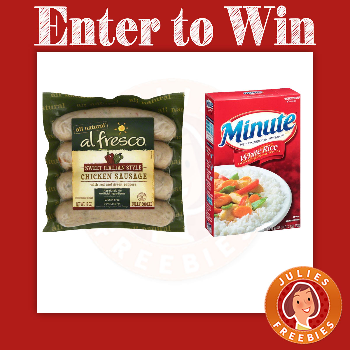 Vote For Your Favorite Al Fresco Minute Rice Recipe Sweepstakes